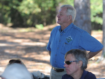 Eddie Drayton talks about easements on private property. Longleaf and Lunch October 24, 2012